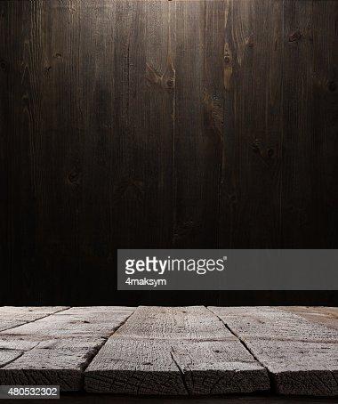 dark wooden background texture : Stock Photo