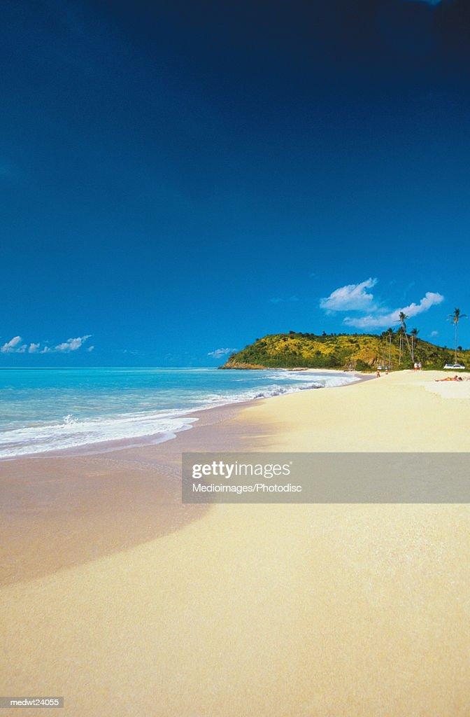Darkwood Beach on Antigua, Caribbean