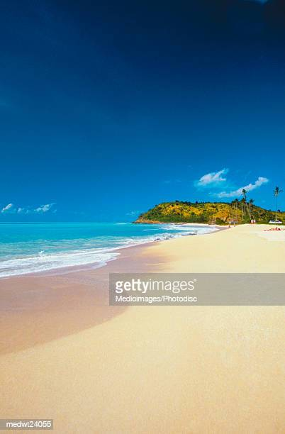Darkwood Beach on Antigua, Caribbean