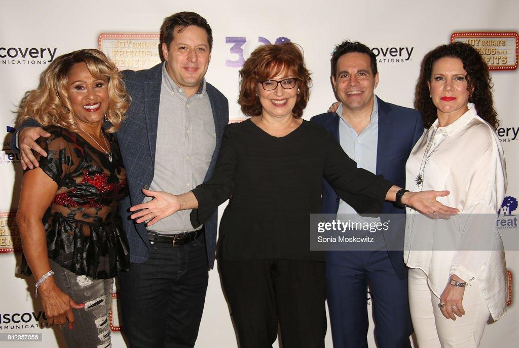 Joy Behar's Friends With Benefits Fundraiser