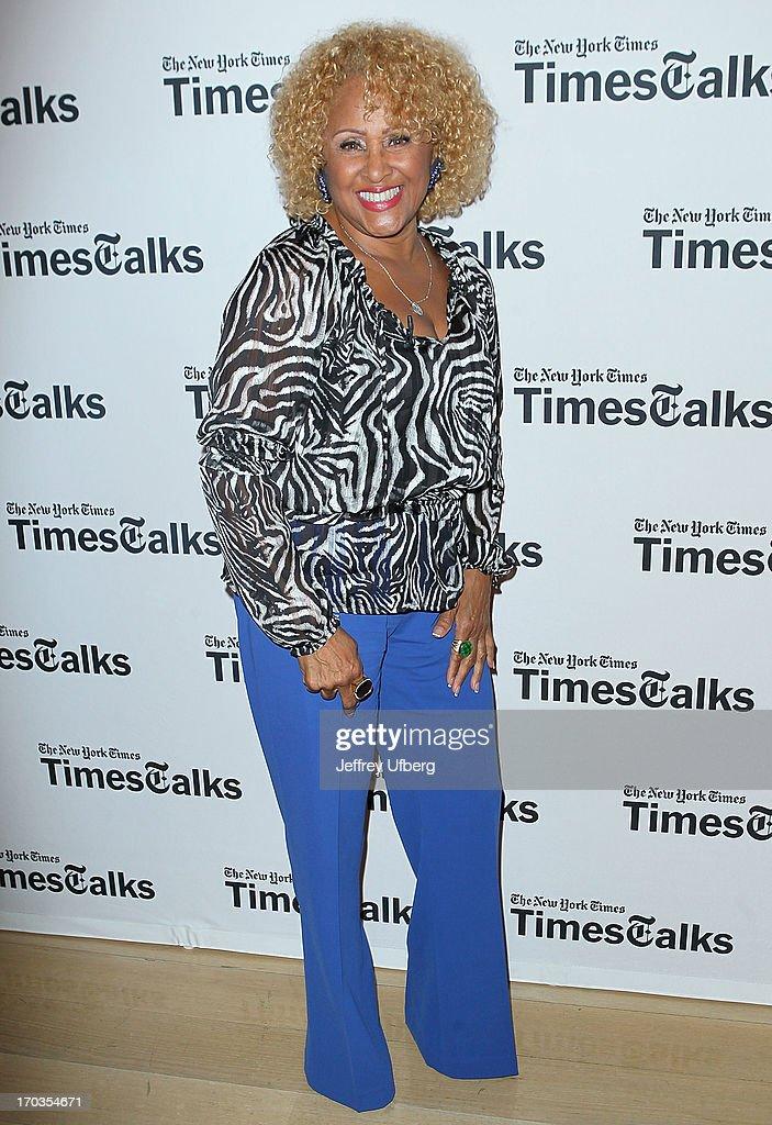 Darlene Love attends 'Twenty Feet from Stardom at TheTimesCenter on June 11, 2013 in New York City.