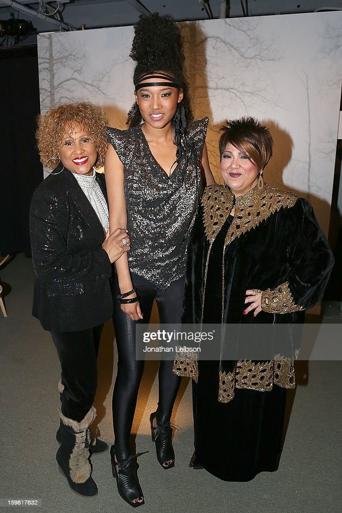 <a gi-track='captionPersonalityLinkClicked' href=/galleries/search?phrase=Darlene+Love&family=editorial&specificpeople=220743 ng-click='$event.stopPropagation()'>Darlene Love</a>, Judith Hill and Tata Vega attend the A Celebration Of Music And Film - 2013 Sundance Film Festival at Sundance House on January 20, 2013 in Park City, Utah.