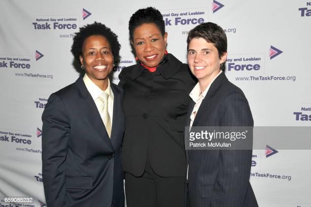 Darlene Nipper Paula Redd Zeman and Rea Carey attend NATIONAL GAY and LESBIAN TASK FORCE 2009 New York Leadership Awards to Honor MAYOR GAVIN NEWSOM...