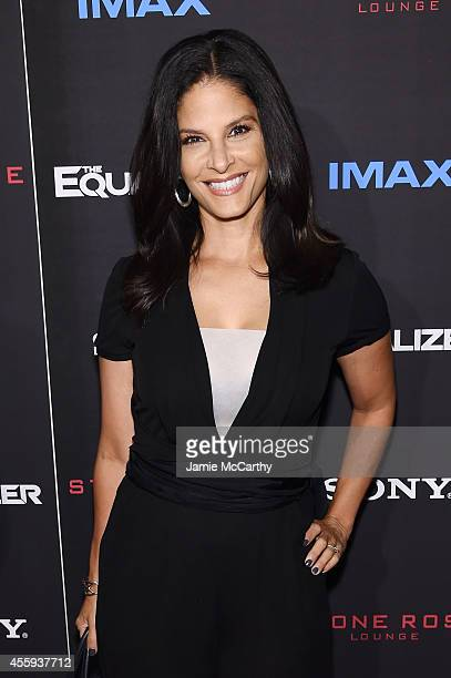 Darlene Rodriguez attends the 'The Equalizer' New York premiere at AMC Lincoln Square Theater on September 22 2014 in New York City