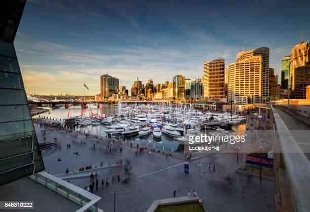Darling Harbour during Sydney international boat show