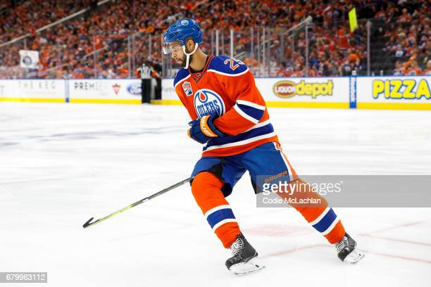Darnell Nurse of the Edmonton Oilers skates against the Anaheim Ducks in Game Four of the Western Conference Second Round during the 2017 NHL Stanley...