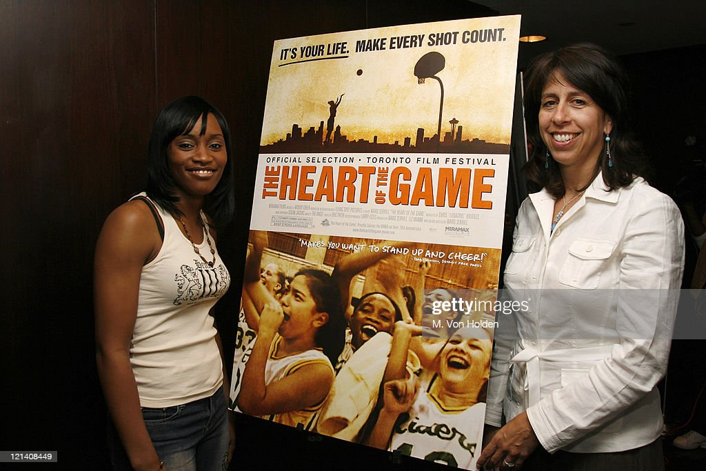 Darnellia Russell andDonna Orender WNBA President