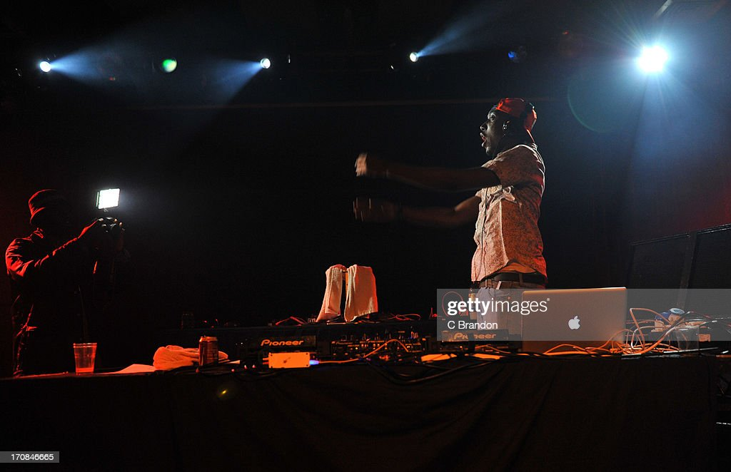 Darq E Freaker performs on stage at Scala on June 11, 2013 in London, England.