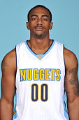 Darrell Arthur of the Denver Nuggets poses for a head shot on September 28 2015 at the Pepsi Center in Denver Colorado NOTE TO USER User expressly...