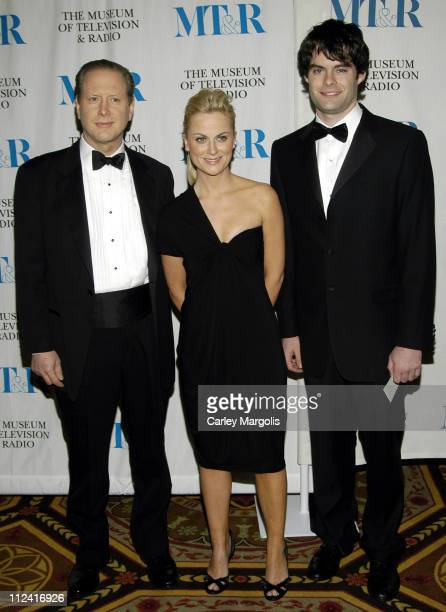 Darrell Hammond Amy Poehler and Bill Hader during The Museum of Television Radio Honor Bob Wright and 'Saturday Night Live' at its Annual New York...