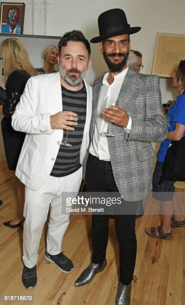 Darrell Vydelingum attends the Mayor of London's Summer Culture Reception on July 18 2017 in London England