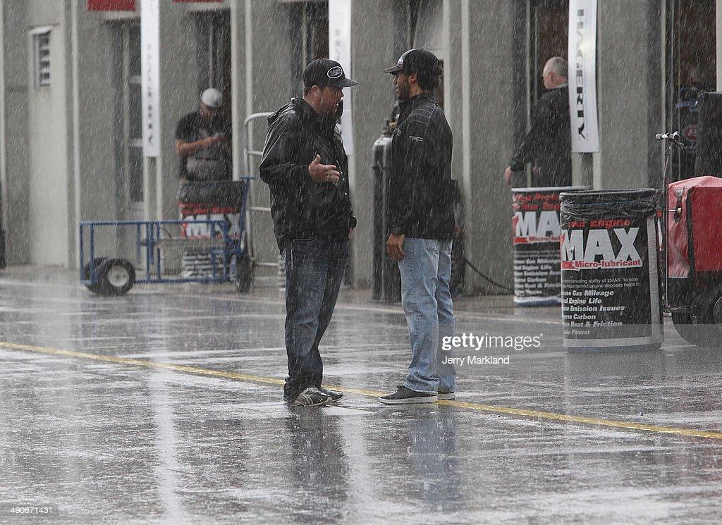 ... Charlotte Motor Speedway on May 15, 2014 in Charlotte, North Carolina