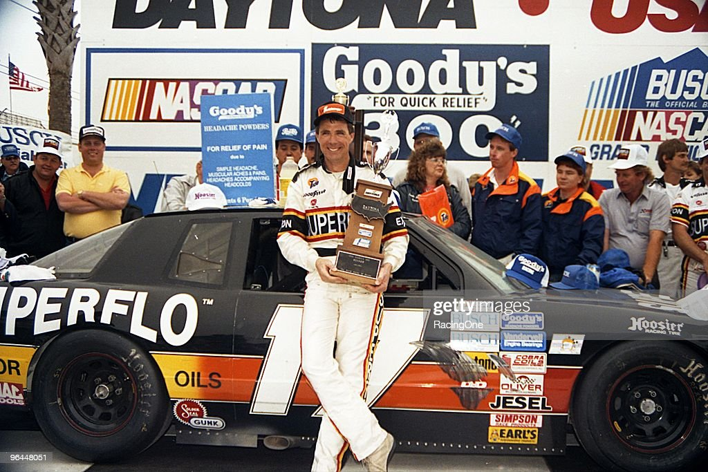 <a gi-track='captionPersonalityLinkClicked' href=/galleries/search?phrase=Darrell+Waltrip&family=editorial&specificpeople=234824 ng-click='$event.stopPropagation()'>Darrell Waltrip</a> won the Goody's 300 in a Chevrolet, winning over $34,000. He won 13 NASCAR Busch Series races from the series beginning in 1982 through 1989.