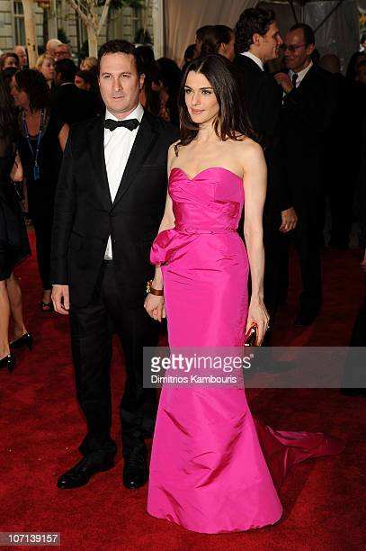 Darren Aronofsky and actress Rachel Weisz attend the Costume Institute Gala Benefit to celebrate the opening of the 'American Woman Fashioning a...