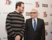 Darren Aronofsky and Martin Scorsese attend the closing night awards during the 2013 First Time Fest at THE PLAYERS on March 4 2013 in New York City