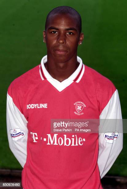 Darren Byfield of Rotherham utd2002/2003 SEASON THIS PICTURE CAN ONLY BE USED WITHIN THE CONTEXT OF AN EDITORIAL FEATURE NO UNOFFICIAL CLUB WEBSITE...