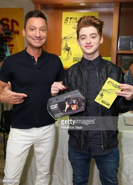 Darren Campo and Thomas Barbusca at Backstage Creations Celebrity Retreat at Teen Choice 2017 Day 1 at Galen Center on August 12 2017 in Los Angeles...