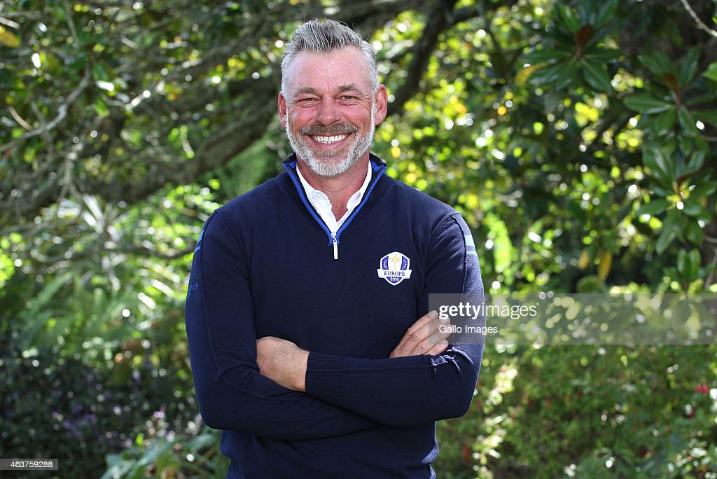 Darren Clarke moments after being announced as captain of Team Europe for the 2016 Ryder Cup during the Dimension Data Pro-Am at Fancourt Golf Estate on February 18, 2015 in George, South Africa.
