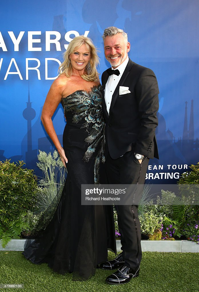 <a gi-track='captionPersonalityLinkClicked' href=/galleries/search?phrase=Darren+Clarke&family=editorial&specificpeople=171309 ng-click='$event.stopPropagation()'>Darren Clarke</a> of Northern Ireland and his wife <a gi-track='captionPersonalityLinkClicked' href=/galleries/search?phrase=Alison+Campbell&family=editorial&specificpeople=7218095 ng-click='$event.stopPropagation()'>Alison Campbell</a> attend the European Tour Players' Awards ahead of the BMW PGA Championship at the Sofitel London Heathrow on May 19, 2015 in London, England.