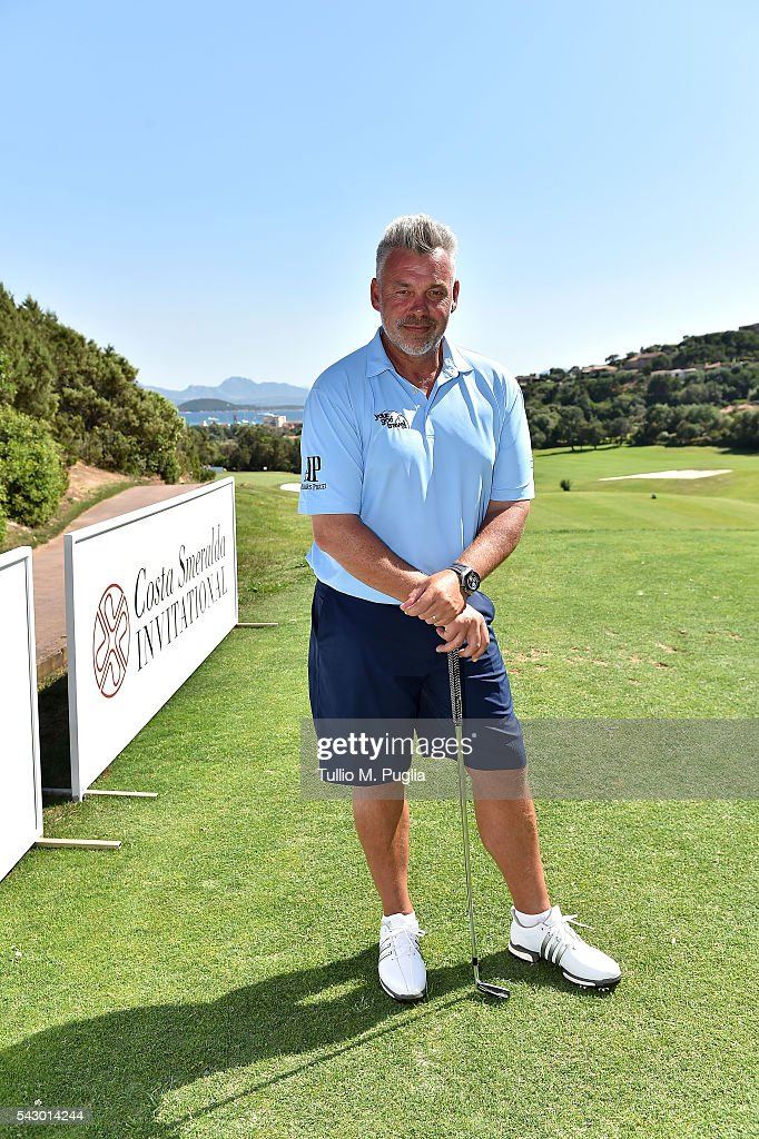 Darren Clarke poses during The Costa Smeralda Invitational golf tournament at Pevero Golf Club - Costa Smeralda on June 25, 2016 in Olbia, Italy.