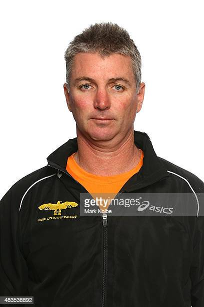 Darren Coleman Head Coach of the NSW Country Eagles poses during the NSW Country Eagles Headshots Session at the NSW Rugby Union Offices on August 10...