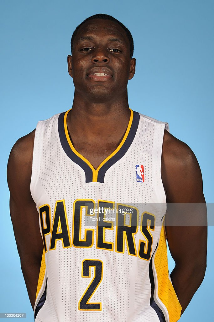 <a gi-track='captionPersonalityLinkClicked' href=/galleries/search?phrase=Darren+Collison&family=editorial&specificpeople=699031 ng-click='$event.stopPropagation()'>Darren Collison</a> #2 of the Indiana Pacers poses for a photo during the media day on December 14, 2011 at Conseco Fieldhouse in Indianapolis, Indiana.