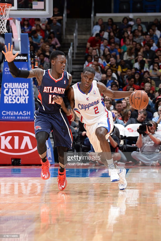 <a gi-track='captionPersonalityLinkClicked' href=/galleries/search?phrase=Darren+Collison&family=editorial&specificpeople=699031 ng-click='$event.stopPropagation()'>Darren Collison</a> #2 of the Los Angeles Clippers drives against the Atlanta Hawks at Staples Center on March 8, 2014 in Los Angeles, California.