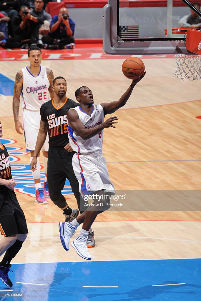 <a gi-track='captionPersonalityLinkClicked' href=/galleries/search?phrase=Darren+Collison&family=editorial&specificpeople=699031 ng-click='$event.stopPropagation()'>Darren Collison</a> #2 of the Los Angeles Clippers drives to the basket against the Phoenix Suns at Staples Center on March 10, 2014 in Los Angeles, California.