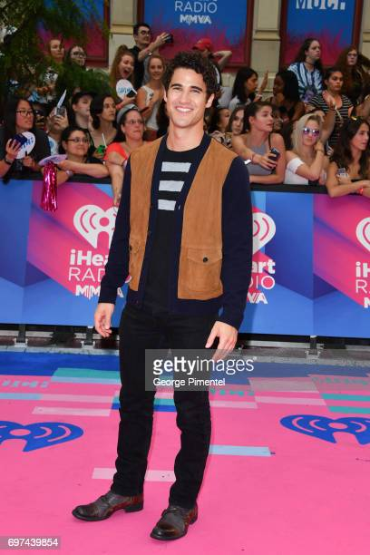 Darren Criss arrives at the 2017 iHeartRADIO MuchMusic Video Awards at MuchMusic HQ on June 18 2017 in Toronto Canada