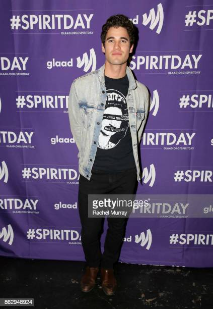 Darren Criss at Justin Tranter And GLAAD Present 'Believer' Spirit Day Concert at Sayer's Club on October 18 2017 in Los Angeles California