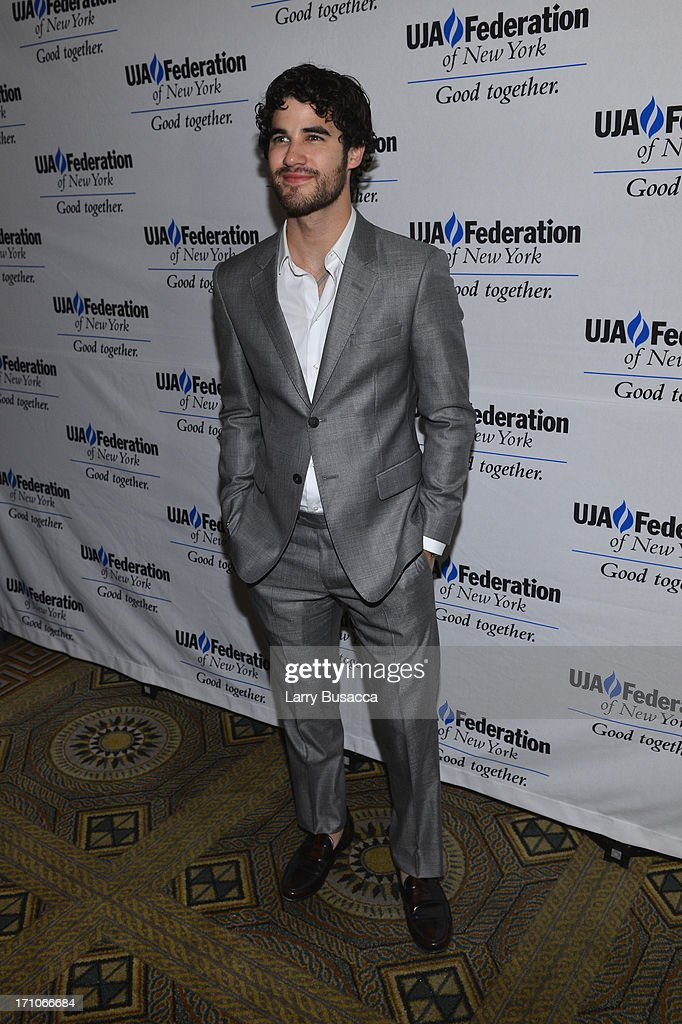 Darren Criss attends a luncheon honoring Rob Stringer as UJA-Federation of New York Music Visionary of 2013 at The Pierre Hotel on June 21, 2013 in New York City.