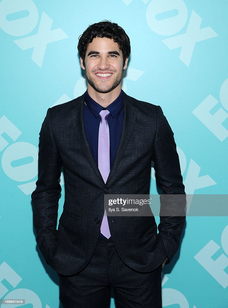 Darren Criss attends FOX 2103 Programming Presentation Post-Party at Wollman Rink - Central Park on May 13, 2013 in New York City.