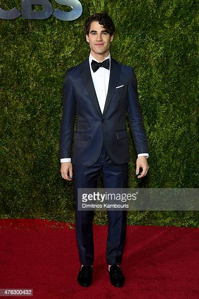 Darren Criss attends the 2015 Tony Awards at Radio City Music Hall on June 7 2015 in New York City