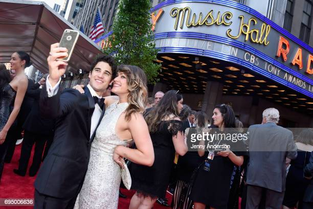 Darren Criss attends the 2017 Tony Awards at Radio City Music Hall on June 11 2017 in New York City