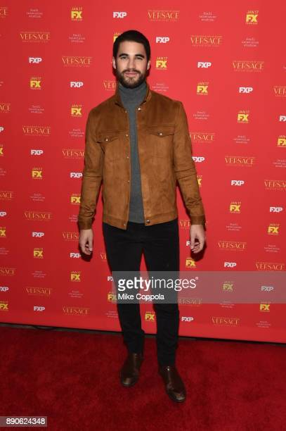 Darren Criss attends 'The Assassination Of Gianni Versace American Crime Story' New York Screening at Metrograph on December 11 2017 in New York City