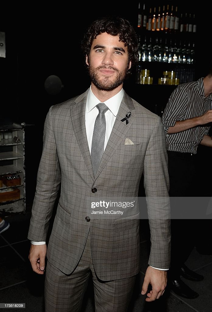 Darren Criss attends The Cinema Society & Brooks Brothers Host A Screening Of Lionsgate And Roadside Attractions' 'Girl Most Likely' After Party at Hotel Americano on July 15, 2013 in New York City.