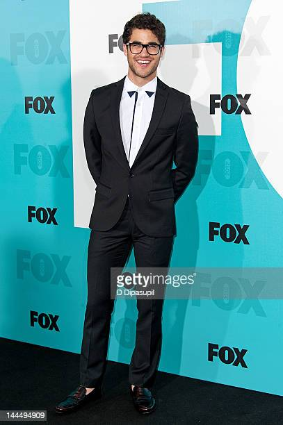 Darren Criss attends the Fox 2012 Programming Presentation PostShow Party at Wollman Rink Central Park on May 14 2012 in New York City