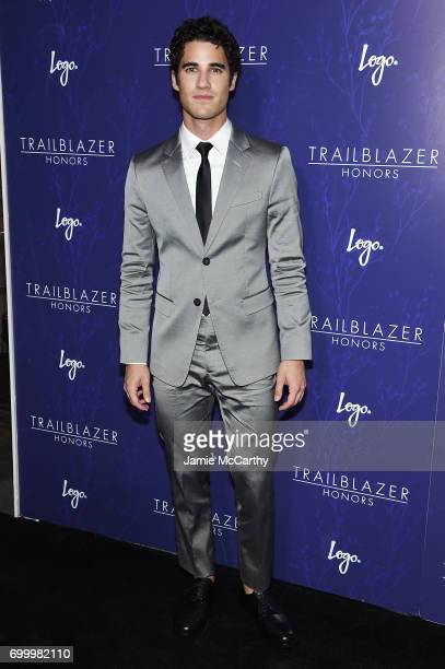 Darren Criss attends the Logo's 2017 Trailblazer Honors event at Cathedral of St John the Divine on June 22 2017 in New York City