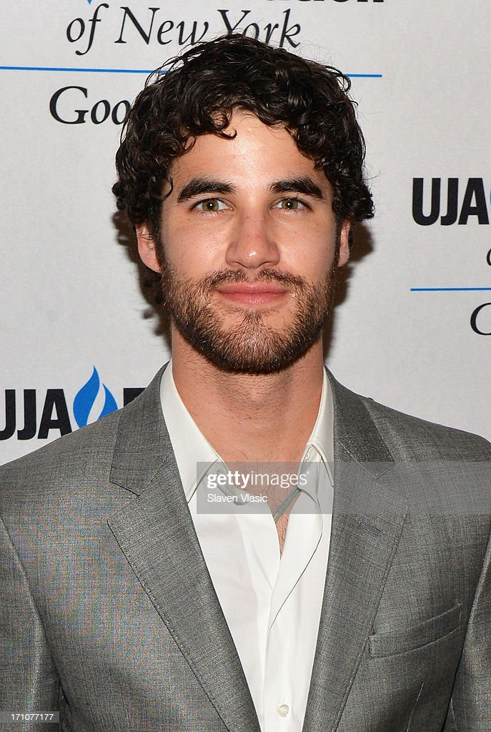 Darren Criss attends UJA-Federation Of New York Music Visionary Of The Year Award Luncheon at The Pierre Hotel on June 21, 2013 in New York City.