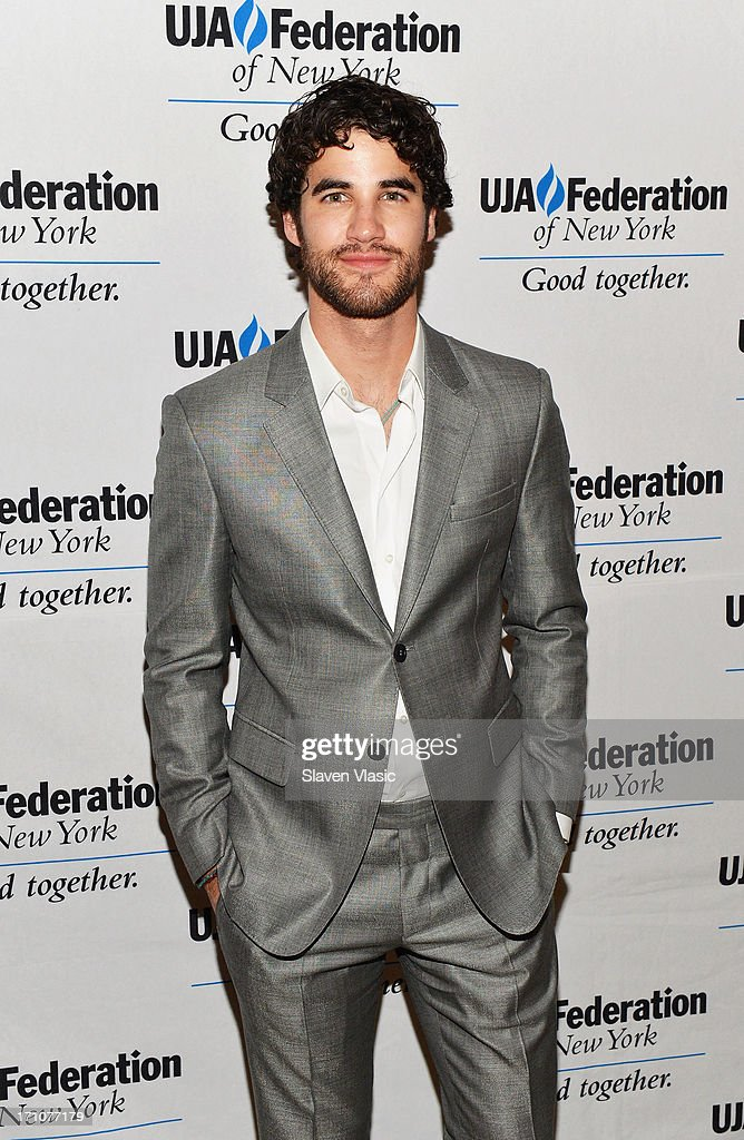 <a gi-track='captionPersonalityLinkClicked' href=/galleries/search?phrase=Darren+Criss&family=editorial&specificpeople=7341435 ng-click='$event.stopPropagation()'>Darren Criss</a> attends UJA-Federation Of New York Music Visionary Of The Year Award Luncheon at The Pierre Hotel on June 21, 2013 in New York City.