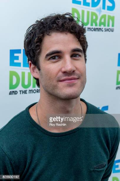 Darren Criss visits 'The Elvis Duran Z100 Morning Show' at Z100 Studio on August 2 2017 in New York City