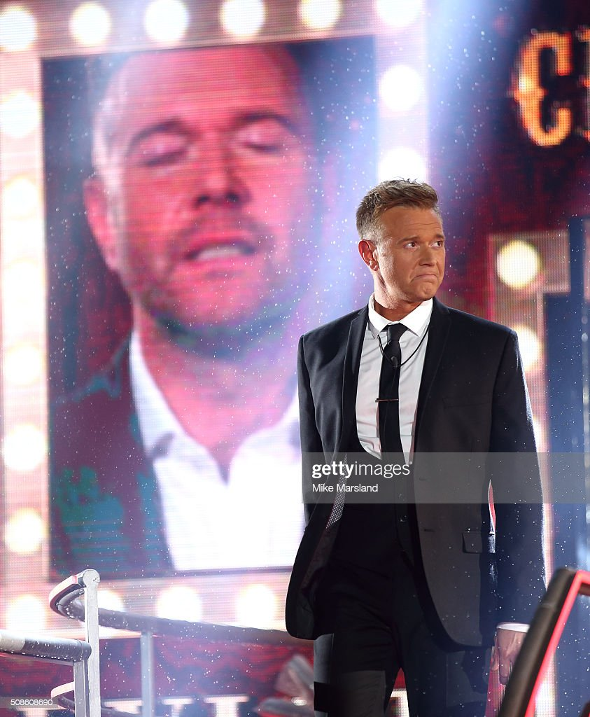 Darren Day is evicted from the Celebrity Big Brother House at Elstree Studios on February 5, 2016 in Borehamwood, England.