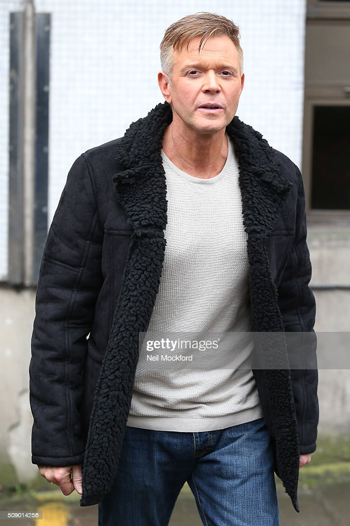 <a gi-track='captionPersonalityLinkClicked' href=/galleries/search?phrase=Darren+Day&family=editorial&specificpeople=225200 ng-click='$event.stopPropagation()'>Darren Day</a> seen at the ITV Studios on February 8, 2016 in London, England.