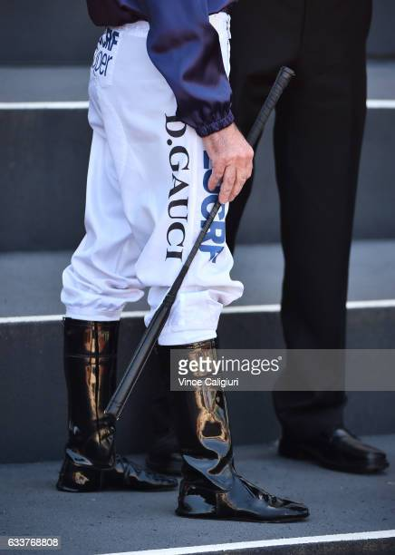 Darren Gauci during Melbourne Racing at Caulfield Racecourse on February 4 2017 in Melbourne Australia Gauci will retire from riding after todays...