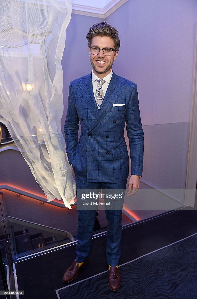 Darren Kennedy arrives at the WGSN Futures Awards 2016 on May 26, 2016 in London, England.