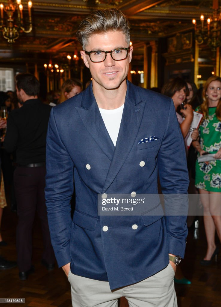 Darren Kennedy attends attends the VIP charity event, which Drapers and WGSN Group, partnered with Parsons The New School for Design and the British Fashion Council to hold, in aid of the Prince's Trust Million Makers on August 4, 2014 in London, England. The event saw the launch the acclaimed book 'The School of Fashion: 30 Parsons Designers' by Simon Collins, Dean of Fashion at Parsons. The richly-illustrated volume explores the legacy of Parsons through the testimony of its brightest alumni, with interviews and sketches from Donna Karan, Alexander Wang, Jack McCullough and Lazaro Hernandez of Proenza Schouler, and many others.