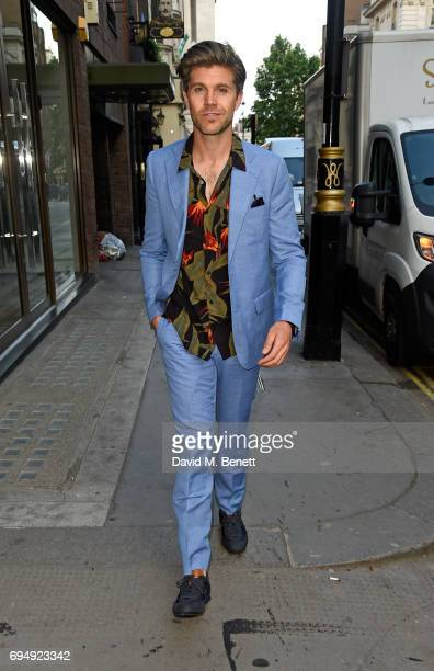 Darren Kennedy attends the Aston Martin x Hogan London Fashion Week Men's Cocktail in partnership with GQ Style on June 11 2017 in London England