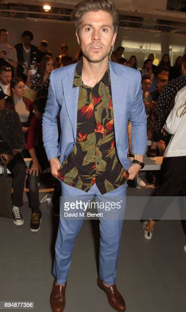 Darren Kennedy attends the Christopher Raeburn show during the London Fashion Week Men's June 2017 collections on June 11 2017 in London England