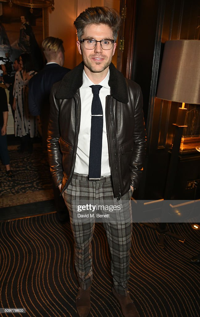 Darren Kennedy attends the GQ and Hackett Pre-BAFTA party, celebrating Hackett's fifth year as the Official Menswear Stylist to the EE British Academy Film Awards, at The Savoy Hotel on February 12, 2016 in London, England.