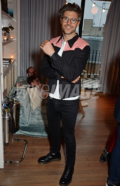 157a7fa496 Darren Kennedy attends the London Fashion Week Mens cocktail party ...